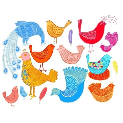 Jelly Bean Birds