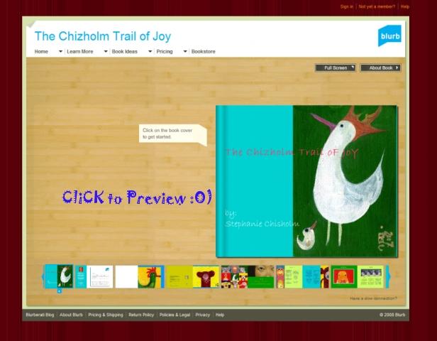 The Chizholm Trail of Joy