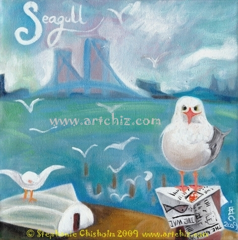 S for Seagull